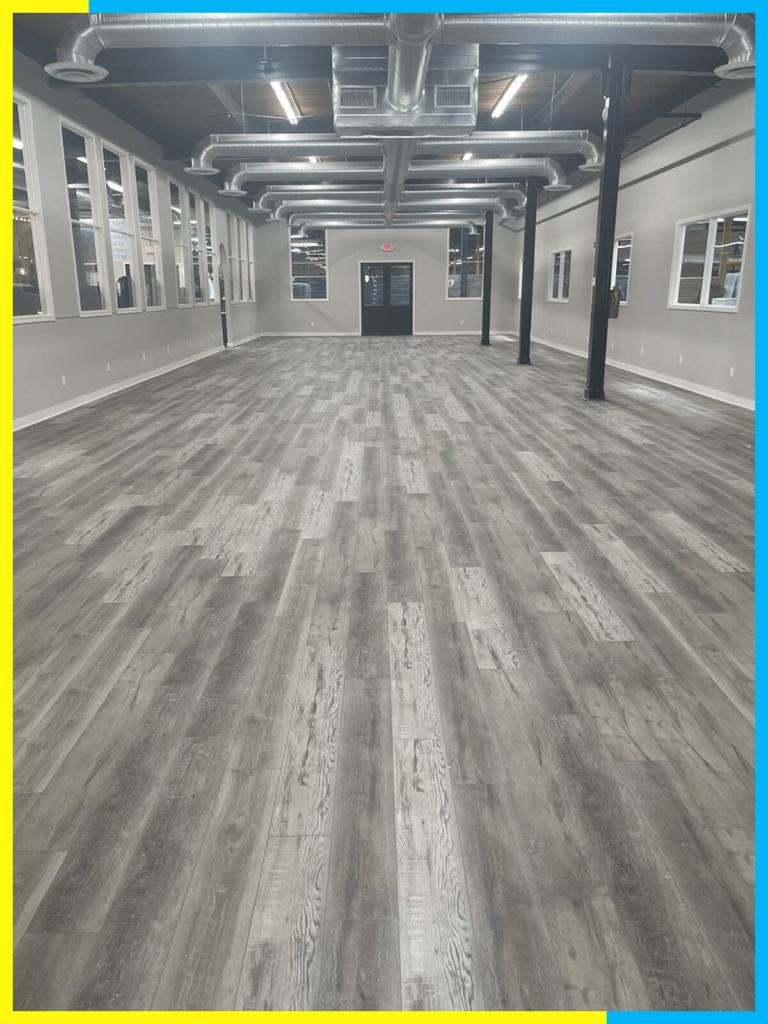 Laminate floors and LVT floors